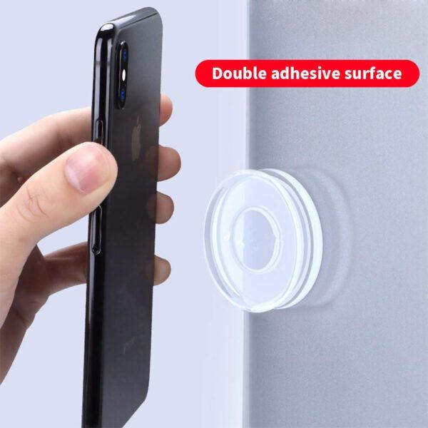washable sticky mobile gel holder