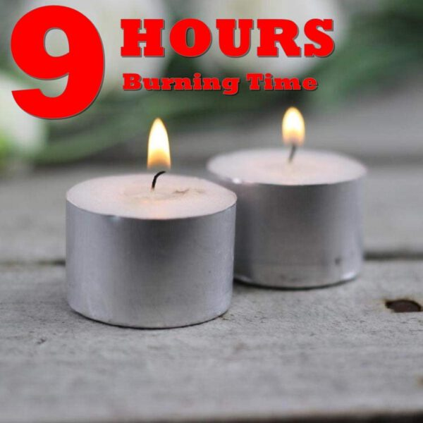 9 hour tealight candles for diwali decoration